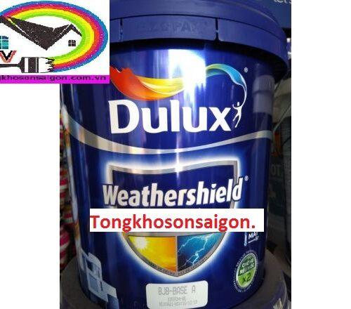 Sơn Nước Ngoại Thất Dulux Weathershield 15 Lít