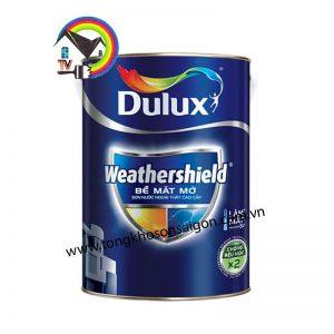 Sơn Nước Ngoại Thất Dulux Weathershield Bóng
