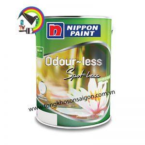 Sơn Nippon Odour less Spot less