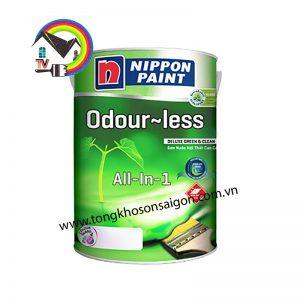 Sơn Nội Thất Nippon odourless Bóng Không Mùi