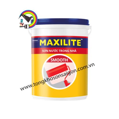 sơn maxilite smooth trong nhà
