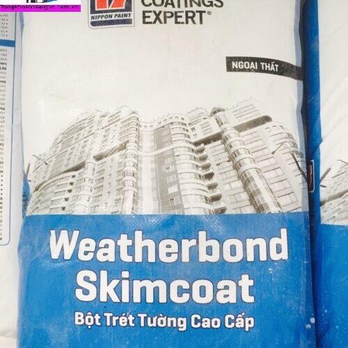 Bột Trét Ngoại Thất Weatherbond Skimcoat